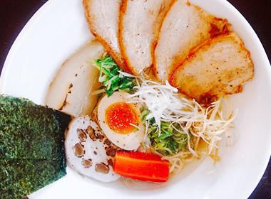 京都旬野菜つけ麺 トッピング味豚