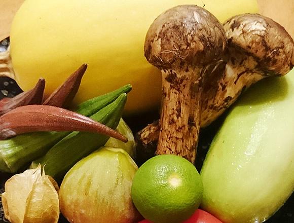 地物野菜 旬野菜をふんだんに使った創作和食